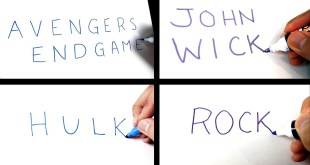 ARTIST turns WORDS INTO PICTURES - VOL 2! Drawing Marvel, DC and Celebs from their NAMES!!