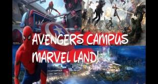 Avengers Campus at  Disney California Adventure Park | Marvel Land