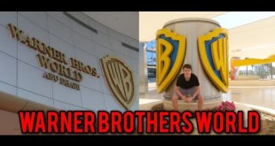 DAY OUT AT WARNER BROTHERS STUDIOS ABU DHABI! (VLOG)