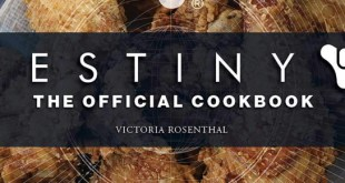 Destiny's got an official cookbook now, so now you know what to get the fam for Christmas