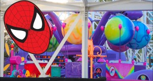 Disney Californian Adventure Updates | Marvel Land and Spider Man Ride | Inside Out Ride Update