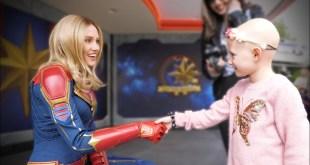 First Time Ever Meeting Captain Marvel! | Disneyland Vlog