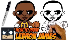 How to Draw Lebron James | LA Lakers
