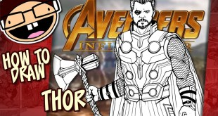 How to Draw THOR (Avengers: Infinity War) | Narrated Easy Step-by-Step Tutorial