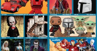 Kingpin, DC, Star Wars, TF Masterpiece, Fullmetal Alchemist, TBLeague, Captain America, Terminator & More!