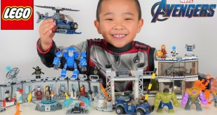 LEGO Avengers Endgame Toy Review Epic Battle With Thanos
