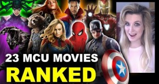 MCU Movies Ranked - All 23, Worst to Best, Avengers Endgame!