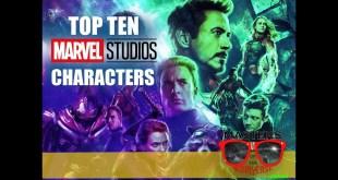 MOTN Top Ten: Marvel Cinematic Universe Characters