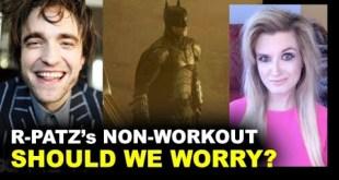 Robert Pattinson Batman Workout REACTION