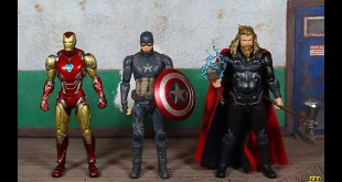 Bandai Tamashii Nations S.H. Figuarts Avengers Endgame Final Battle Edition Captain America Review!