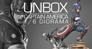 Capitão América em Ação: Unbox da Estátua Diorama Marvel Iron Studios
