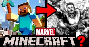 Drawing MINECRAFT in a MARVEL STYLE????  Featuring PopCrossStudios!
