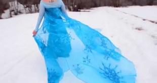 "Frozen Cosplay Music Video ""Let it Go"""