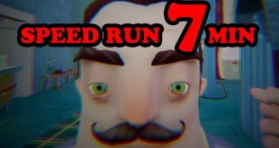 Hello Neighbor Alpha 4 Speedrun [7 MINUTES]