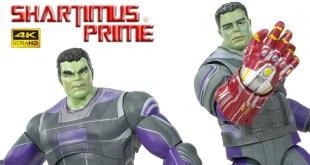 Marvel Select Hulk Nano-Gauntlet & Disney Store Exclusive Diamond Avengers Endgame 4K Figure Review