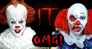 "Old and New Pennywise (Cosplay) invades cinemas! - ""IT"" early screening in Manila, Philippines:"