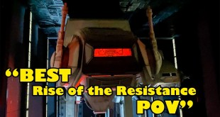 Rise of the Resistance 4K POV! Full Onride BOTH SIDES Star Wars Galaxy's Edge