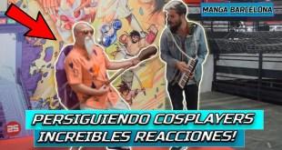 Sorprendiendo COSPLAYERS tocando sus CANCIONES con una melódica [MANGA Barcelona 2019]