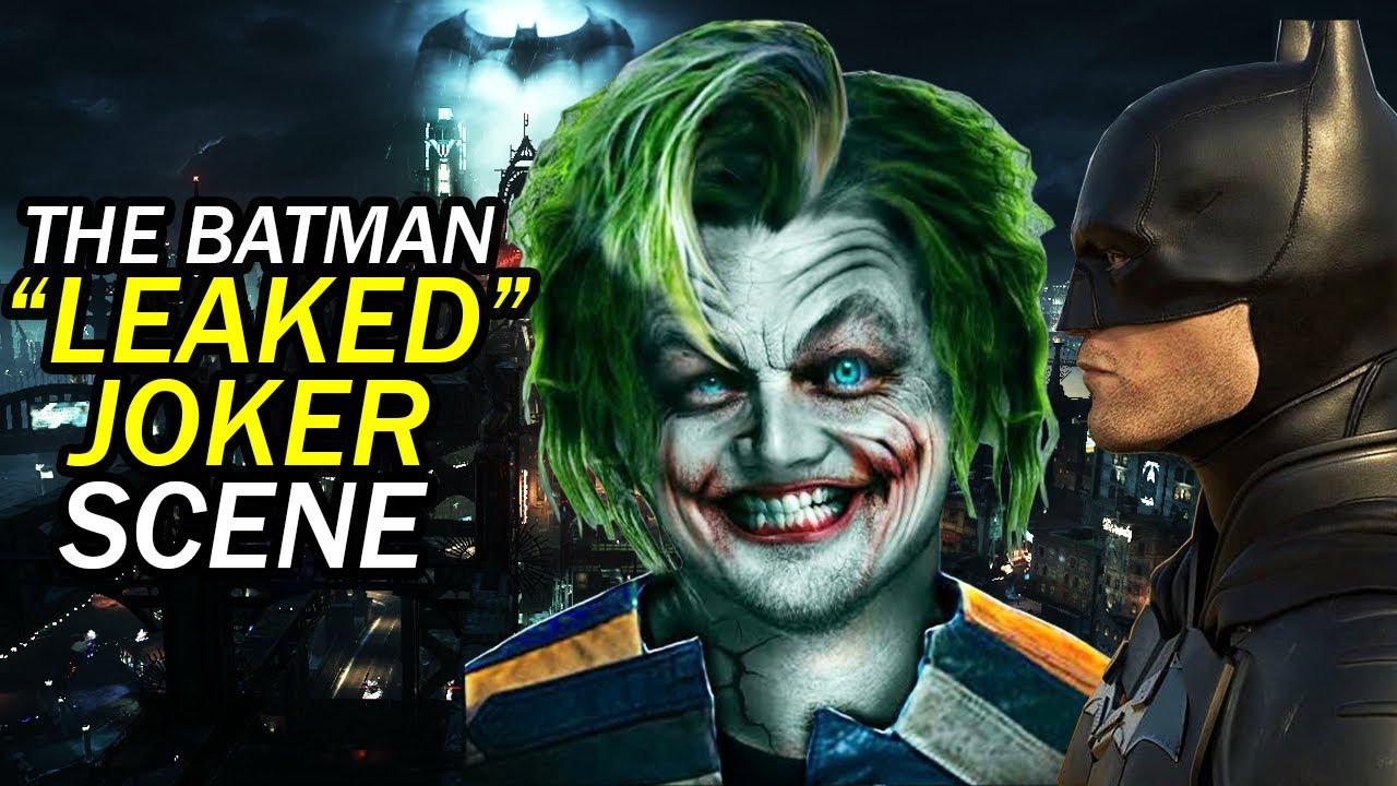 THE BATMAN 2021 JOKER SCENE CONFIRMED! Batman Villain TRILOGY ...