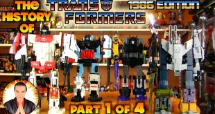 The History of Transformers: 1986 Edition [PART 1 of 4]