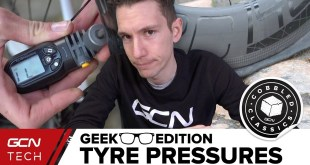 Tyre Pressures On Cobbles | GCN Tech Geek Edition