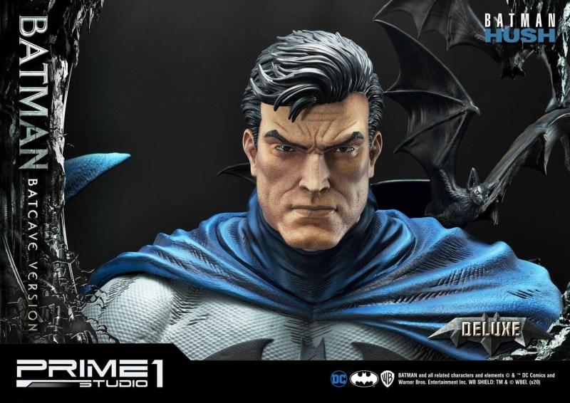 Batman Batcave Deluxe Version head