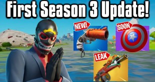 All The New Changes From The FIRST Season 3 Update! - Fortnite Battle Royale
