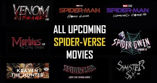 All Upcoming Sony Spider-Man Movies | Venom 2, Morbius, Into The Spider-Verse 2, Madame Web + More