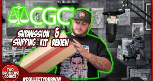 CGC COMIC BOOK SUBMISSION SELECTIONS | CGC SHIPPING KIT REVIEW