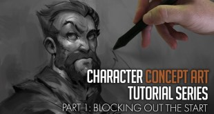 Character Concept Art Tutorial - New Series!