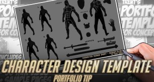 Concept Artist portfolio mistake #1 - No Character breakdowns!