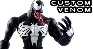 Custom VENOM Marvel Legends Action Figure Review