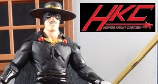 Custom ZORRO V 2.0 Marvel Universe action figure review made by Hunter Knight Customs