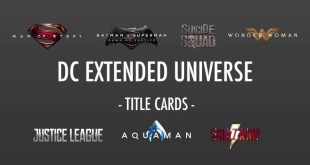 DC Extended Universe | All DCEU Movies | Title Cards HD
