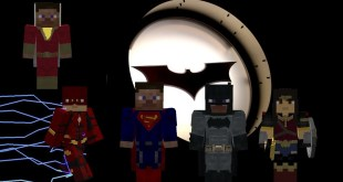 DCEU Justice League Characters In Minecraft (Legends Mod)