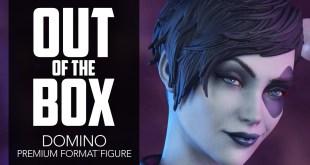 Domino Premium Format Figure Marvel Unboxing - Sideshow