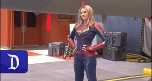 Encounter Captain Marvel in Disney California Adventure Park
