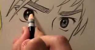 How to Draw Manga Eyes Four Different Ways (pt.2) Video Tutorial