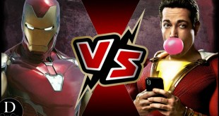 Iron Man (MCU) VS Shazam (DCEU) | BATTLE ARENA | (RE-UPLOAD)