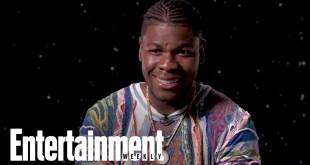John Boyega Breaks Down Finn's New Gear In 'Star Wars' | Entertainment Weekly