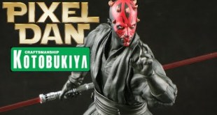Kotobukiya Star Wars ArtFX+ Darth Maul 1/10 Scale Statue Review
