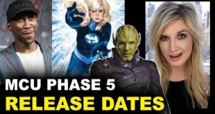 MCU Phase 5 - Blade, Fantastic Four, Secret Invasion Release Dates