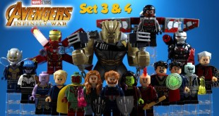 Marvel Cinematic Universe Avengers Infinity War Guardians of the Galaxy Unofficial LEGO Minifigures