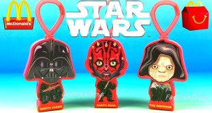 McDonald's Star Wars Happy Meal Toys Exclusive Dark Side Saga Set Special Edition Gift Full Set 2019
