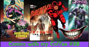 NEW COMIC BOOK REVIEWS FOR BOOKS RELEASED June 10th 2020 - Comics with my Coffee 28