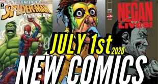 NEW COMIC BOOKS RELEASING JULY 1ST 2020 MARVEL & DC COMICS PREVIEW COMING OUT THIS WEEKS PICKS