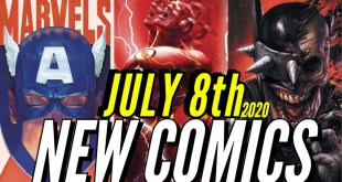 NEW COMIC BOOKS RELEASING JULY 8TH 2020 MARVEL & DC COMICS PREVIEW COMING OUT THIS WEEKS PICKS