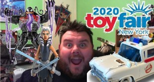 New York Toy Fair 2020 Announcements - Venom, Ghostbusters, Star Wars Clone Wars, Legends & More!!