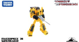 Optibotimus Reviews: Takara Tomy Transformers Masterpiece MP-39 SUNSTREAKER