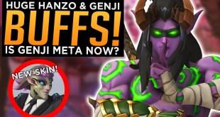 Overwatch: NEW Zarya Skin! - HUGE Genji Hanzo Buffs LIVE!